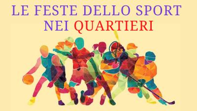 Festa dello Sport nei Quartieri