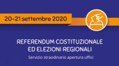 Voto del 20 e 21 settembre, tessere elettorali e documenti di identificazione