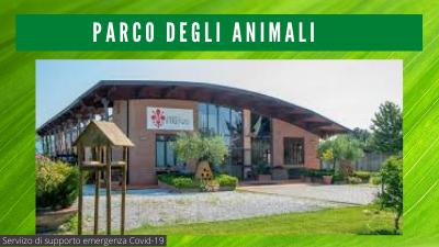 Parco degli animali di Ugnano, servizi di supporto alle persone in quarantena o contagiate