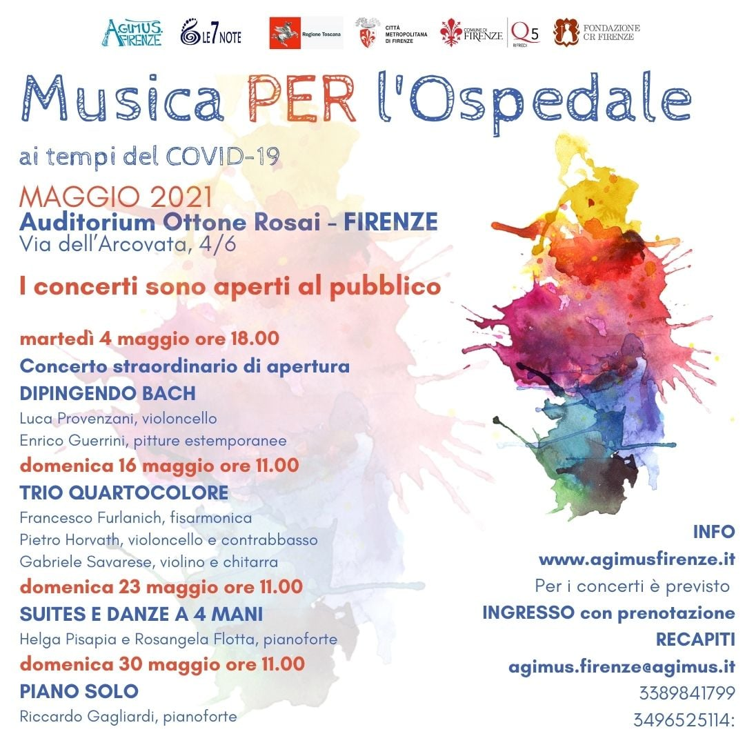 Concerti Agimus all'auditorium Ottone Rosai